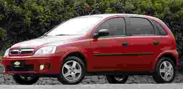 Chevrolet Corsa 2003 - Divulgação - Divulgação