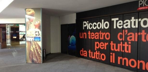 Fachada do Teatro Piccolo de Milão, na Itália - BBC
