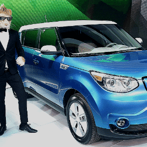 Kia Soul EV - Scott Olson/Getty Images/AFP
