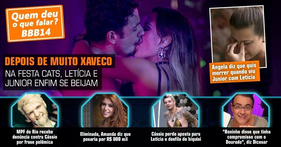 """Quem deu o que falar no """"BBB14"""" - Semana 01/02 - 07/02"""