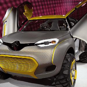 Renault Kwid Concept - Sajjad Hussain/AFP