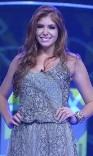 04.fev.2014 - Público elimina Amanda com 65% dos votos