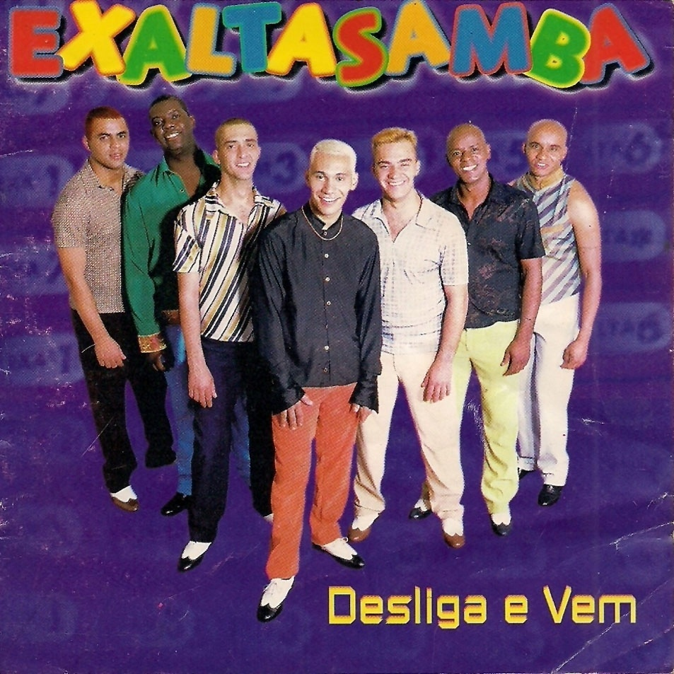"""Exaltasamba :: Megahits: """"Telegrama"""", """"Eu Me Apaixonei Pela Pessoa Errada"""" e """"Livre Para Voar"""" (na fase com o vocalista Thiaguinho)"""