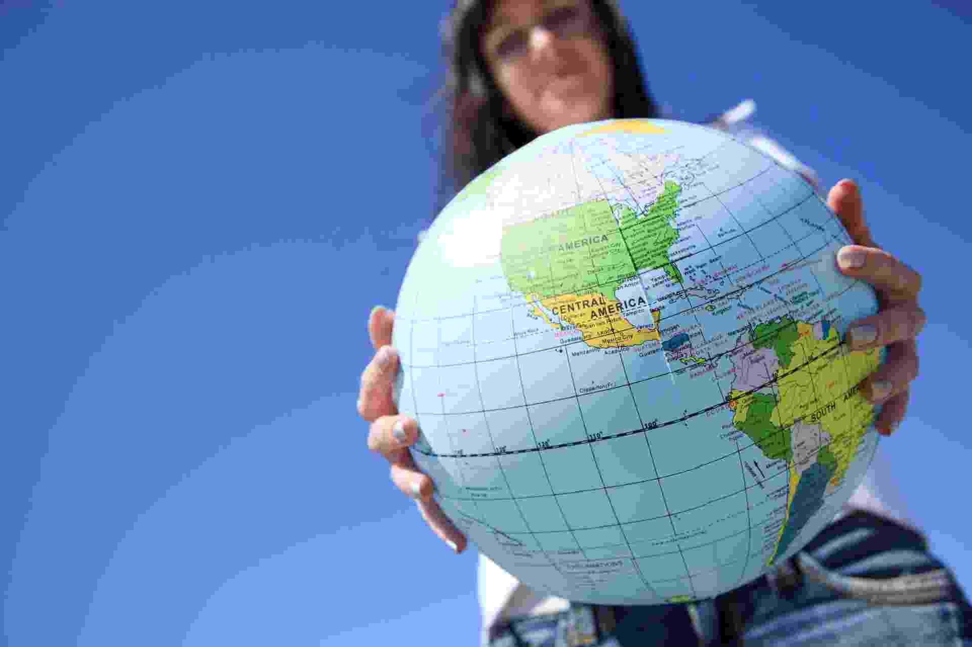 Globo terrestre, volta ao mundo, viagem, turismo - Thinkstock