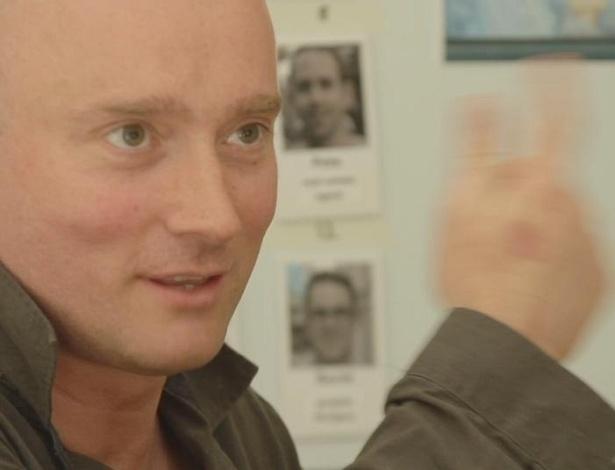 O britânico Tom Martin, defensor dos direitos masculinos - Divulgação