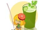 Suco verde refresca no calor e tem receita fácil para crianças