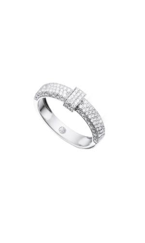 Anel ouro branco cravejado com diamantes; da Vivara (www.vivara.com.br), por R$ 2.990. Disponibilidade e preço pesquisados em fevereiro de 2014 e sujeitos a alteração
