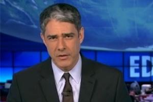 William Bonner mediará debate de presidenciáveis