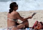 Luiza Brunet e Yasmin curtem praia no Rio - AgNews
