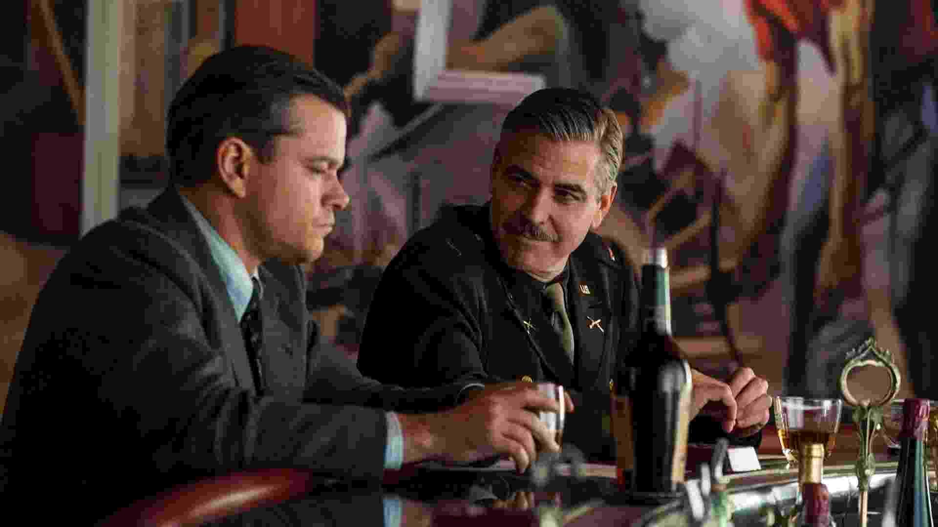 """Cena de """"Caçadores de Obras-Primas"""", de George Clooney - Divulgação/Fox"""
