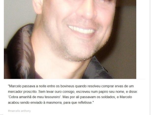 Versículo sobre a prisão de Marcello Antony por comprar maconha com cheque