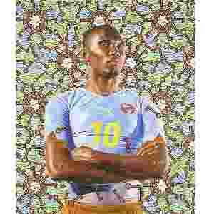 """A poucos meses da Copa do Mundo, o Museu do Condado de Los Angeles (LACMA, na sigla em inglês), nos EUA, inaugura a exposição """"Futebol: O Jogo Bonito"""" - Kehinde Wiley"""