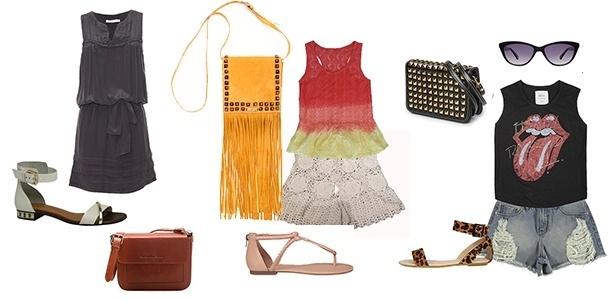 É possível montar looks no estilo executiva, hippie e roqueira com as peças-chave do verão - Divulgação