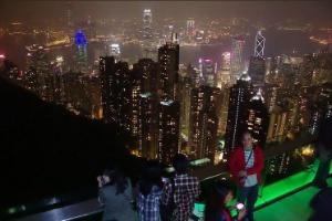 d0f2f714c Hong Kong, no sul da China, parece feita para ser vista do alto
