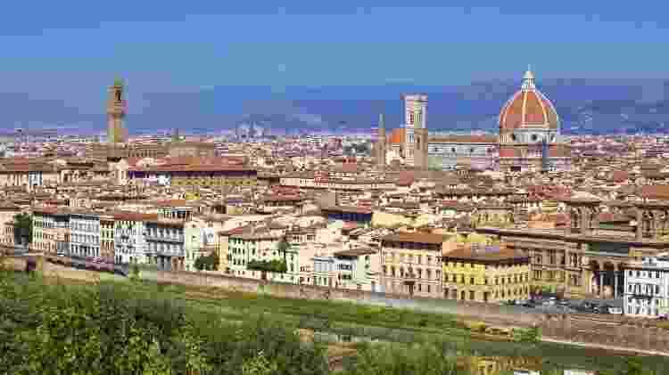 Vista geral de Florença, na Itália - Thinkstock - Thinkstock