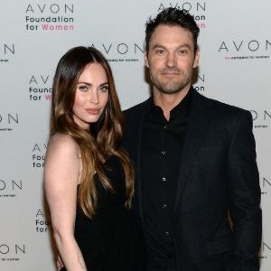Megan Fox com o ex-marido, Brian Austin Green - Dimitrios Kambouris/Getty Images for Avon