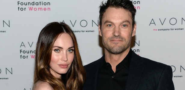 Megan Fox com o marido, Brian Austin Green - Dimitrios Kambouris/Getty Images for Avon