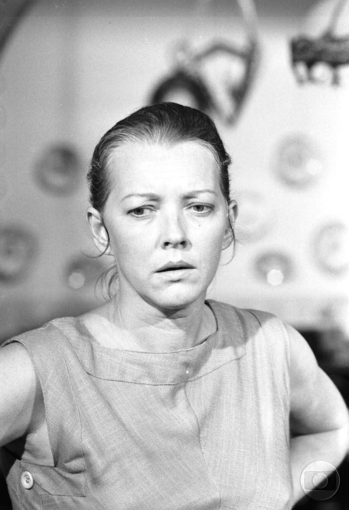 A atriz Lilian Lemmertz, em cena da novela