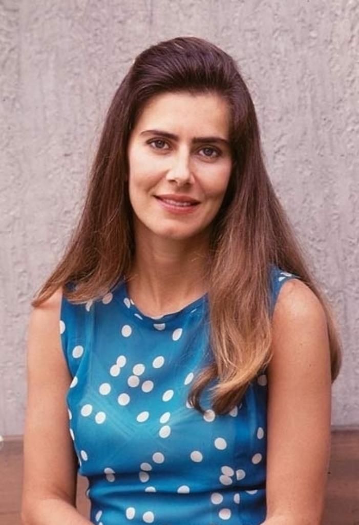 A atriz Maitê Proença em cena da novela