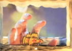 Peça lambe-lambe é vista através de um buraquinho; aprenda a fazer