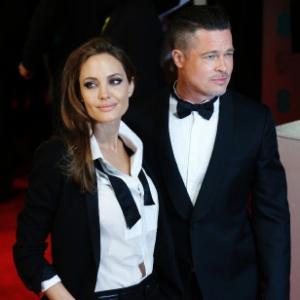 Angelina Jolie tem seis filhos com o ator Brad Pitt - AFP