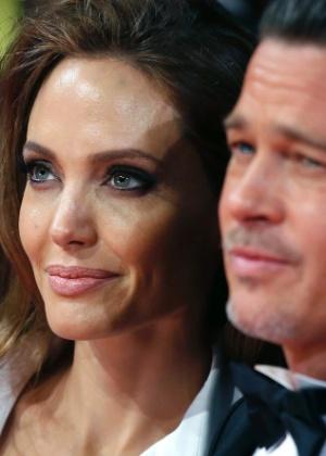Angelina Jolie e Brad Pitt se separaram e setembro - AFP