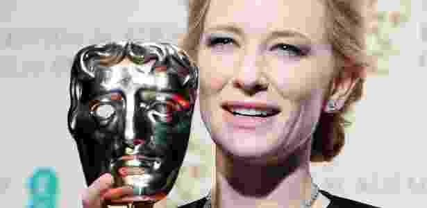 """Cate Blanchett, uma das principais à frente do Time""""s Up, so vencer o BAFTA de melhor atriz em 2014 - EFE"""
