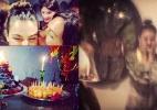 Isis Valverde ganha festa de aniversário surpresa e chora - Reprodução/Instagram