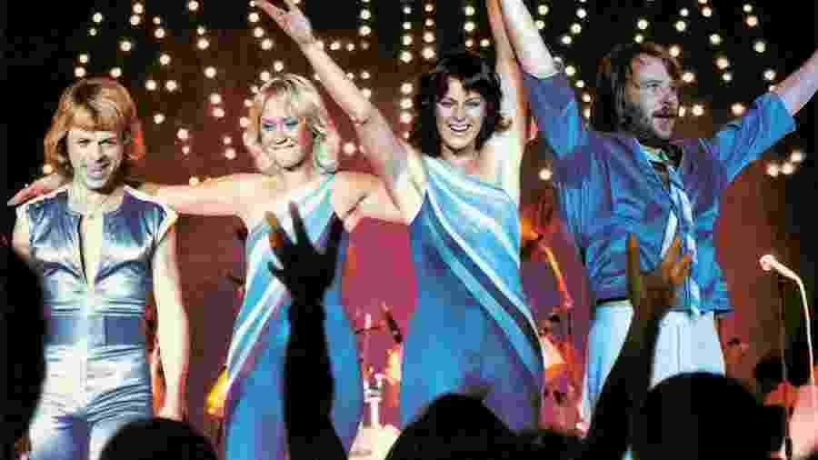 O grupo ABBA - Reprodução