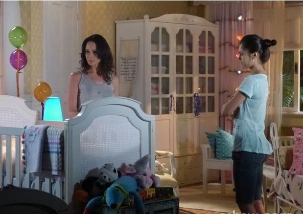 Obcecada por ser mãe, Juliana mostra o quartinho de bebê que tem em casa