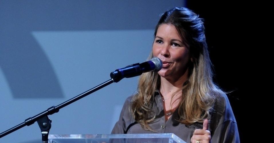 18.fev.2014 - A Diretora Artística e de Programação do Canal,  Daniela Beyruti, marcou presença no evento