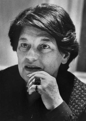 A escritora canadense Mavis Gallant em foto de 1981 - Ian Barrett/The Canadian Press/The Canadian Press