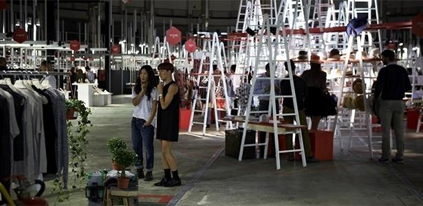 Vista geral da segunda edição da feira Super, em Milão - Divulgação