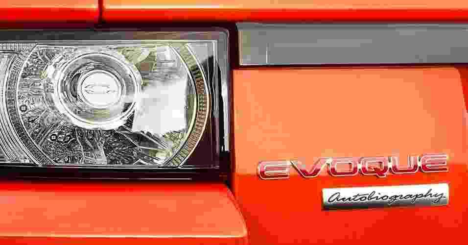 Range Rover Evoque Autobiography - Divulgação