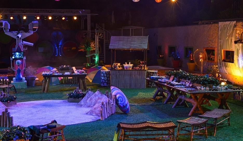 19.fev.2014 - Decoração da Festa Brou
