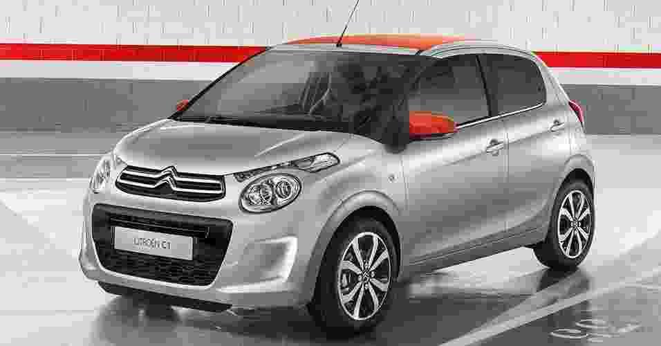 Citroën C1 2015 - Divulgação