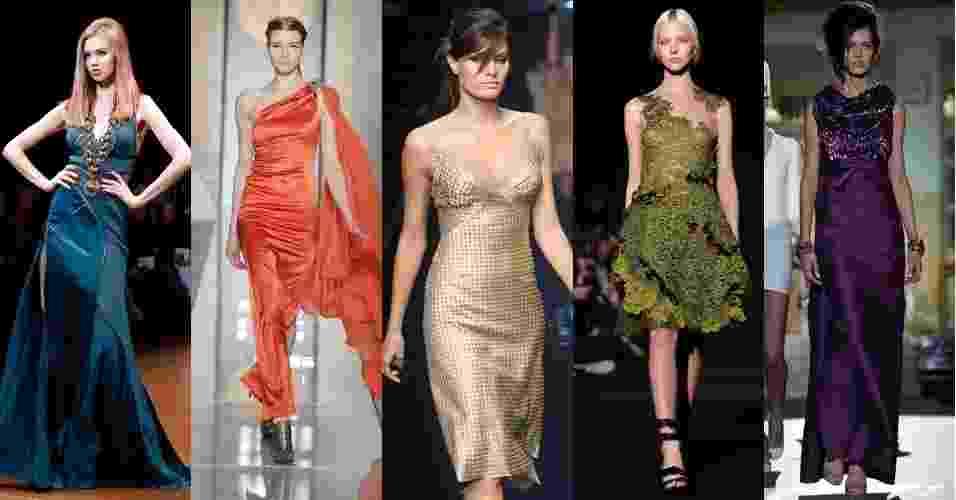 Moda festa na semana de moda de Milão - EFE/AFP
