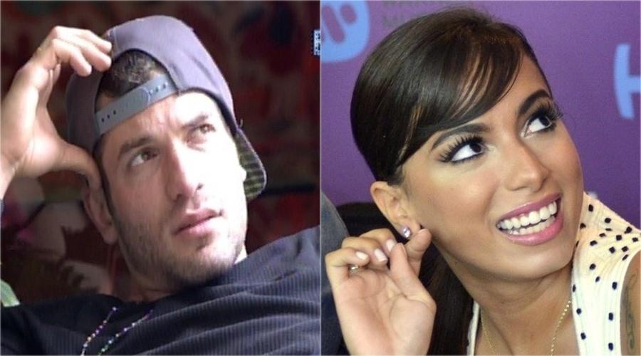 Quando Roni quis saber de Cássio quanto ele havia pago para contratar Anitta para um evento, o pay-per-view mudou a cena para outro ambiente da casa