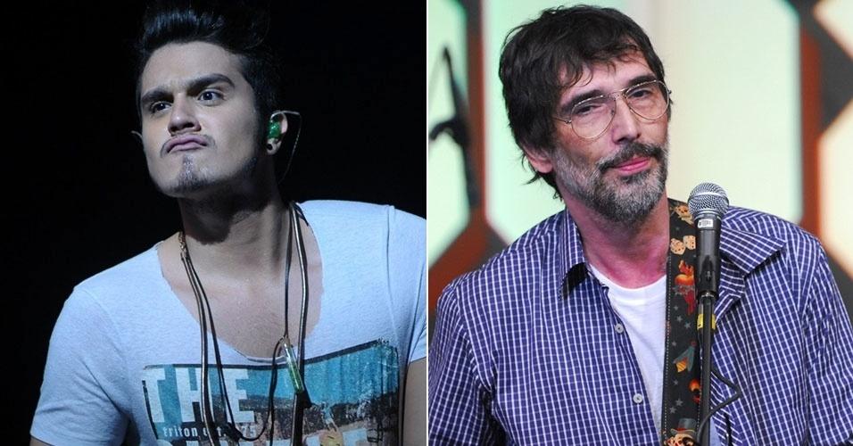 Rafinha Bastos irá entrevistar Luan Santana e Lobão no