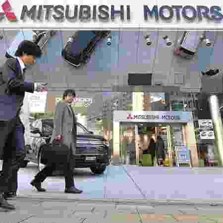 Sede da Mitsubishi no Japão - Kazuhiro Nogi/AFP