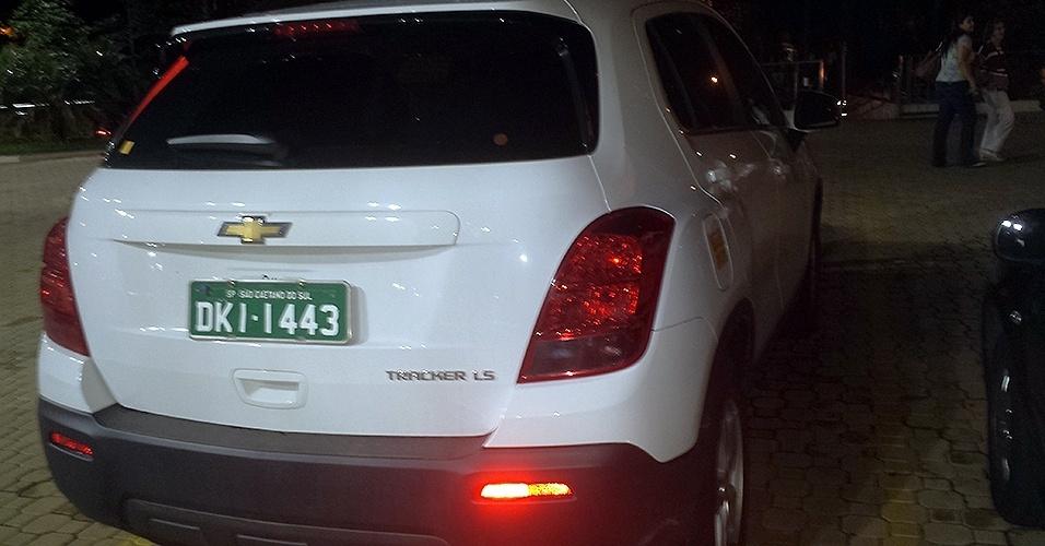 Chevrolet Tracker LS, em testes e com placas de São Caetano do Sul (SP), foi flagrado pelo leitor de UOL Carros Gabriel Pedroso