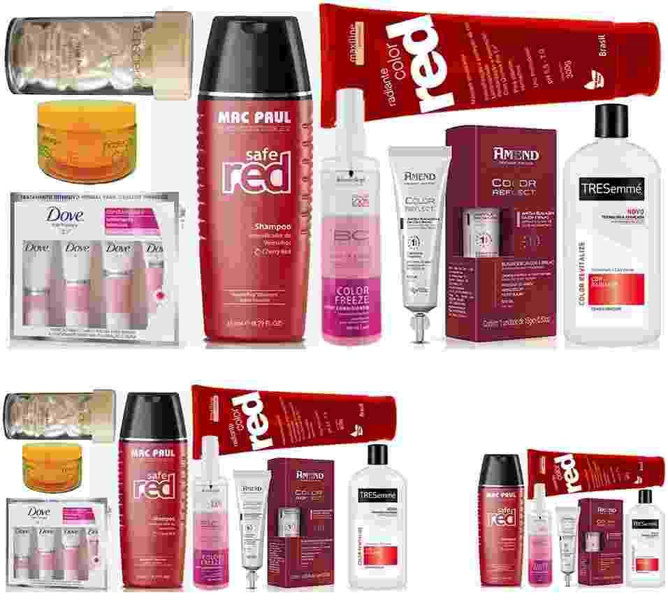 Guia de compras: cabelos vermelhos - Divulgação
