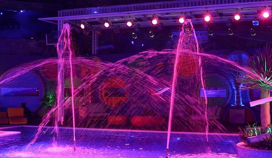 26.fev.2014 - Decoração da Festa Vegas