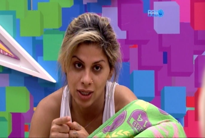 27.fev.2014 - Vanessa diz que Diego forçou criação do casal com Franciele