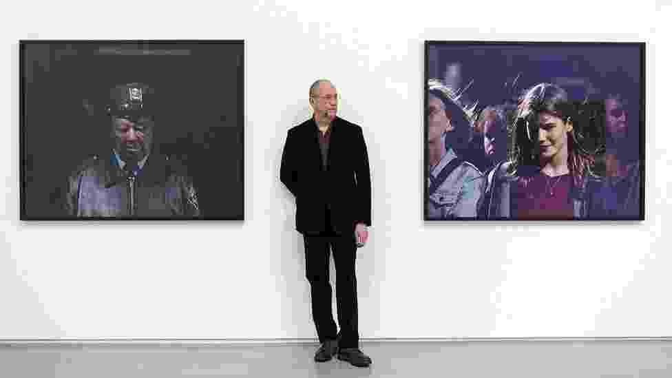 Fotógrafo Philip-Lorca diCorcia na galeria Hepworth Wakefield, Yorkshire - Bob Collier/Divulgação