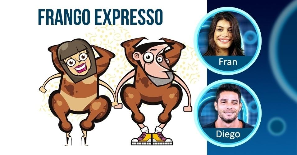 FRANCIELE E DIEGO - frango expresso