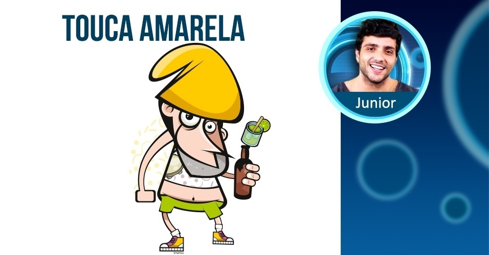 JUNIOR - de touca amarela