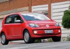 Volkswagen up! mais caro é testado em dose tripla por UOL Carros - Murilo Góes/UOL