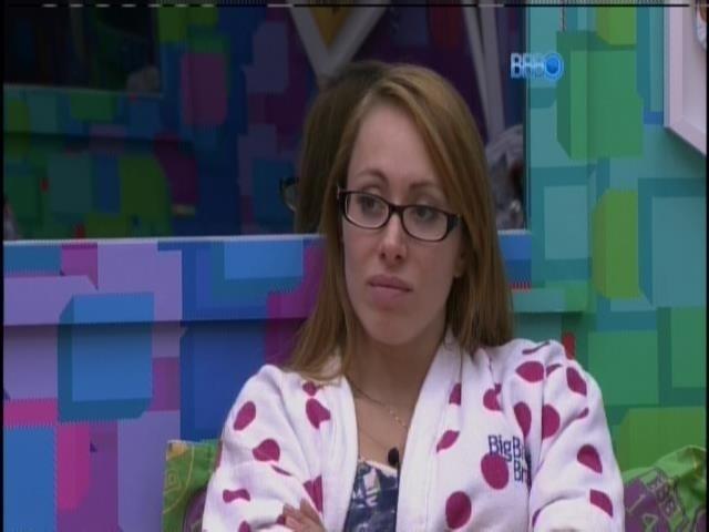 28.fev.2014 - Aline acha que Diego é favorecido pela edição do programa