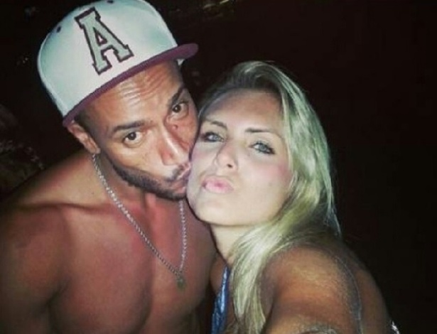 "Valter Slim e Giovanna Gaia, antes do ""BBB14"""